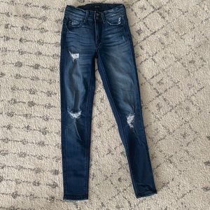 Kancan distressed Jean size 23